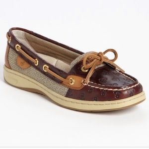 🌸Sperry🌸 Anchor Print Shoes